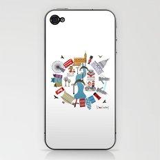 I {❤} London iPhone & iPod Skin