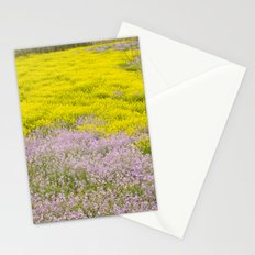 Spring flowers. Magic fields Stationery Cards
