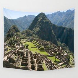 Machu hu Peru Wall Tapestry