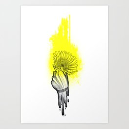 lighter/lower//higher/heavy Art Print