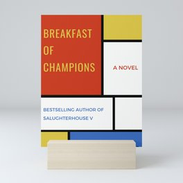 breakfast of champions Mini Art Print
