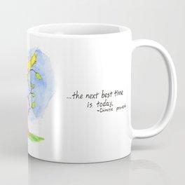 Tree Proverb Coffee Mug