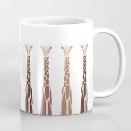 Triple Giraffes Coffee Mug