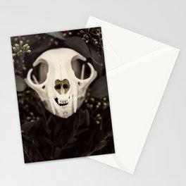 Skull and Bone Stationery Cards