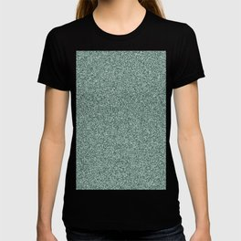 Melange - White and Deep Green T-shirt