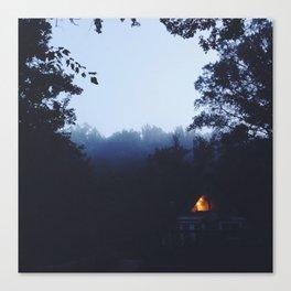 A Frame Living  Canvas Print