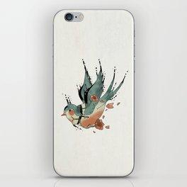 Swallow  iPhone Skin