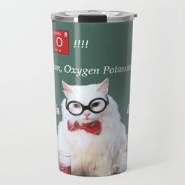 Chemistry Cat Travel Mug
