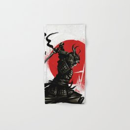 Samurai Invader Hand & Bath Towel