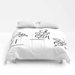 violinist cellist string player contrabass Comforters