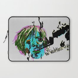Rimbaud-Morality is the weakness of the mind-  Laptop Sleeve