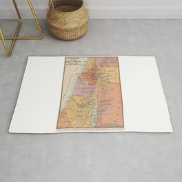 Map of Galilean Ministry Second Period Rug