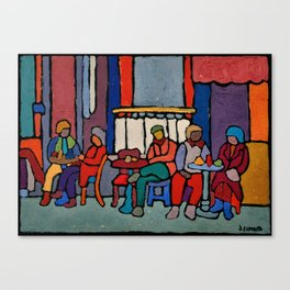 Cafe Reggio Canvas Print