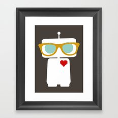 Quirky Robots Framed Art Print