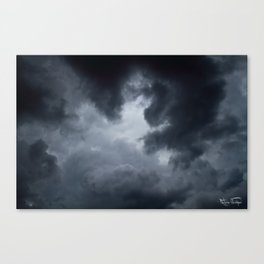 Into The Storm... Canvas Print