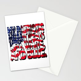My Patriotic Heart USA Stationery Cards