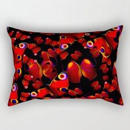 Breathless, Fluttering Rectangular Pillow