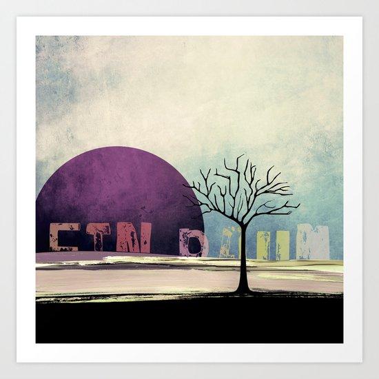 Ein Baum no5 [One Tree no5] Art Print