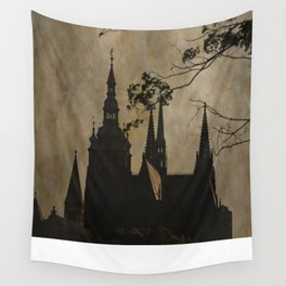 Mysterious Prague Wall Tapestry