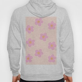 Retro 60's Flower Power 4 Hoody