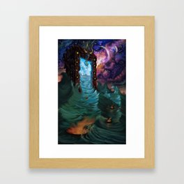 Divine Ingress Framed Art Print