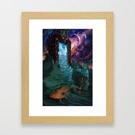 Divine Ingress Framed Art Print