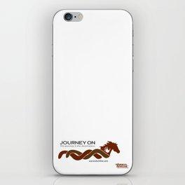 Journey on White Background iPhone Skin