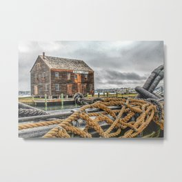 Sail Loft Metal Print