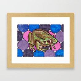 Frog #1 Framed Art Print