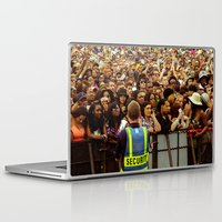 concert Laptop & iPad Skins featuring Concert Crowd by ThatRaulSanchez