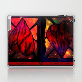 Mi Corazon (My Heart) - Symmetrical Art 3 Laptop & iPad Skin
