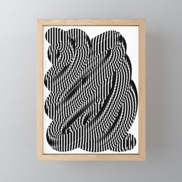Op Art #1 Framed Mini Art Print