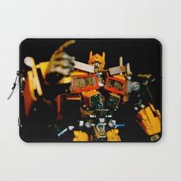 Golden Optimus Laptop Sleeve