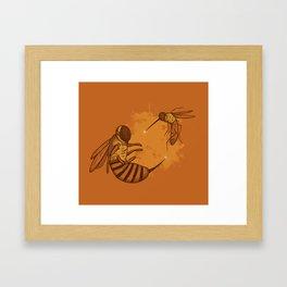 Fencing Framed Art Print