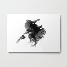 Pistol, Packing, Pete Metal Print