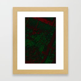 Deadly Framed Art Print