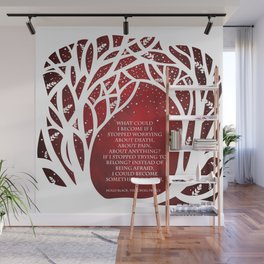What Could I Become - Cruel Prince Quote Wall Mural