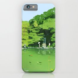Green pond iPhone Case