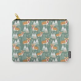 Corgis in the mountains Carry-All Pouch