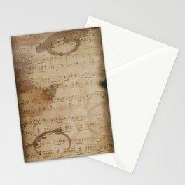 1798 European Ephemera Antique Sheet Music Stationery Cards