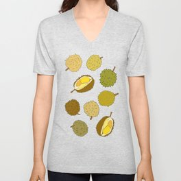 Durian Fruit Unisex V-Neck