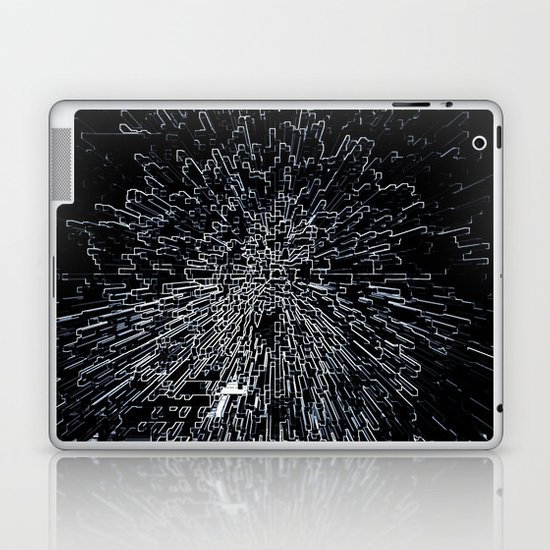 Digital Art Abstract Laptop & iPad Skin