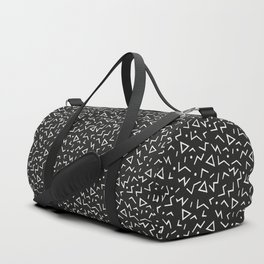Memphis Pattern 11 - 80s Retro Duffle Bag