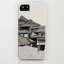 Vintage Gion iPhone Case