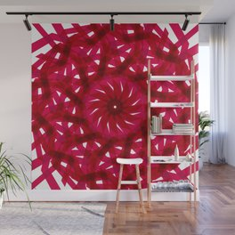 The Red  Net remixed Wall Mural
