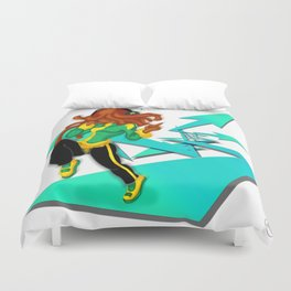 Way of the Music Duvet Cover