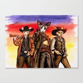 Western Sphynx Canvas Print
