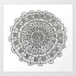 Tasmania Mandala Art Print