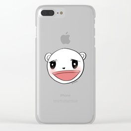 Me After Coffee & Wine Clear iPhone Case