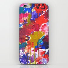 Floral Drip iPhone & iPod Skin